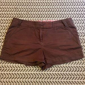 J.Crew brown Chino shorts